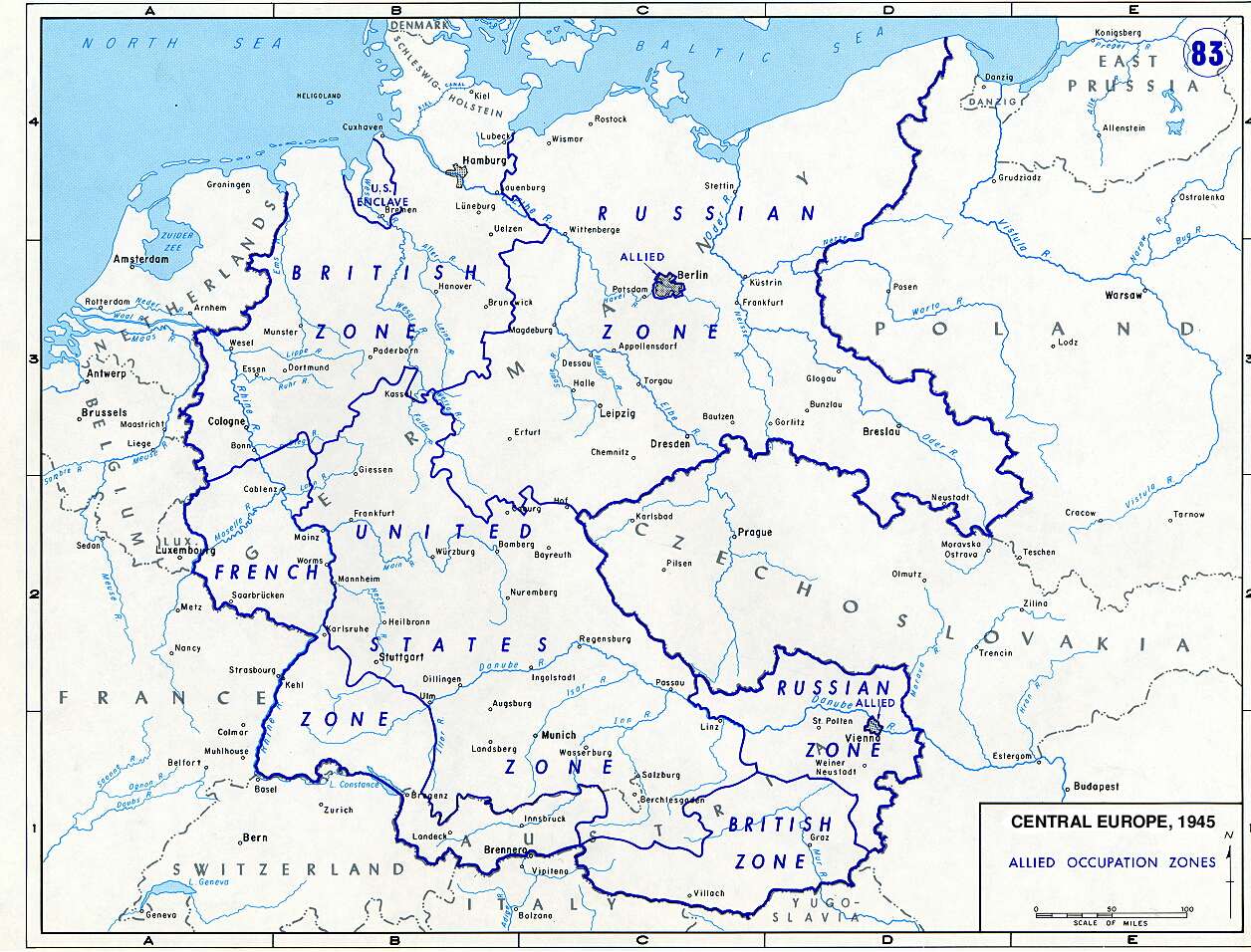 1945 occupied germany after the surrender k7_851945